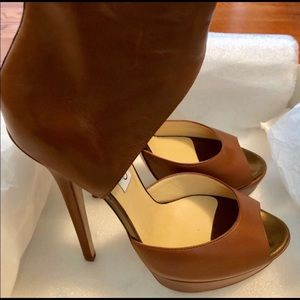 Jimmy Choo Tan Sandal Shoe